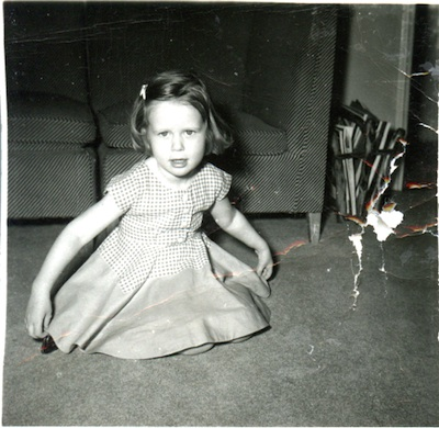 Sherry as little girl